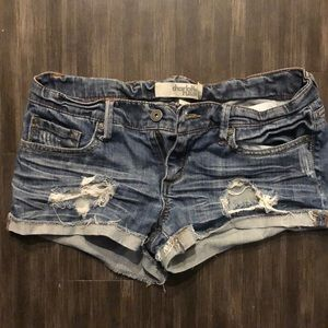 Charlotte Russe Jean shorts - size 6